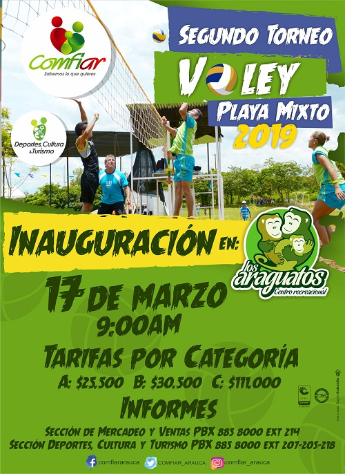2do Torneo de Voleibol Playa